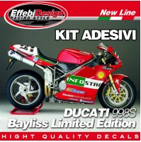 ADESIVI kit DUCATI 748 916 996 998 sr BAYLISS INFOSTRADA ORIGINAL TOP QUALITY!