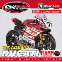 ADESIVI/STICKERS KIT DUCATI CORSE SBK FIAMM 1199 899 PANIGALE RS TOP QUALITY!