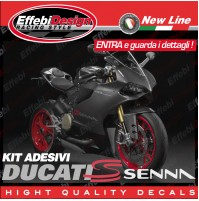 ADESIVI/STIKERS KIT DUCATI 1199 899RS PANIGALE SENNA CORSE ORIGINAL TOP QUALITY!