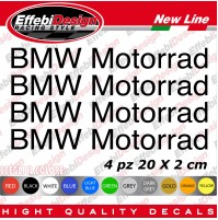 Adesivi Stickers BMW MOTORRAD S1000RR GS 1200 1150 ADVENTURE M SERIES RT F R K C