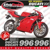 Adesivi Stickers Kit DUCATI 996 Desmoquattro compatibili original TOP QUALITY !!