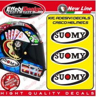 Adesivi / Stickers SUOMY helmets casco spec1r sr sport apex replica halo carbon