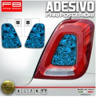 Adesivi StickersBomb Fiat 500 Abarth 595 695 Corse Fari Headlights Rear Tuning