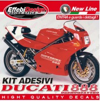 Adesivi/Stickers Kit DUCATI 888 DESMOQUATTRO LIMITED ORIGINAL TOP QUALITY !