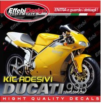 Adesivi/Stickers Kit DUCATI 998 SR Testastretta compatibili original TOP QUALITY