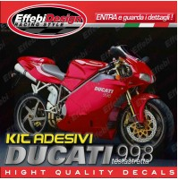 Adesivi/Stickers Kit DUCATI 998 Testastretta compatibili original TOP QUALITY !