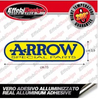 Adesivo/Sticker ARROW ALTE TEMPERATURE 200 GRADI SCARICHI EXHAUST HIGHT QUALITY