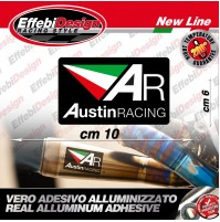 Adesivo/Sticker AUSTIN RACING HIGHT TEMPERATURE 200° HONDA YAMAHA BMW  KTM