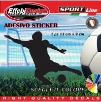 Adesivo/Sticker CALCIO PLAYER RONALDO,uefa, auto moto vetrine sagoma decals