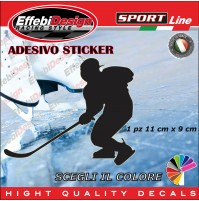 Adesivo/Sticker HOCKEY EUROPA CUP IIHF ODEGAR PLAYER auto moto sagoma decals