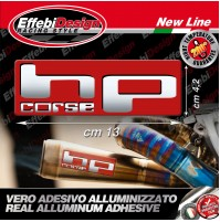 Adesivo/Sticker HP CORSE ALTE TEMPERATURE 200 gr EXHAUST HONDA BMW SUZUKI