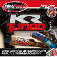 Adesivo/Sticker exaust KR TUNED Bmw Honda Ktm Suzuki HIGH TEMP 200° H.QUALITY