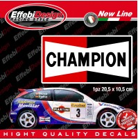 Adesivo/Stickers CHAMPION SPARK PLUGS CANDELE FORD LANCIA SUBARU HYUNDAY FIAT