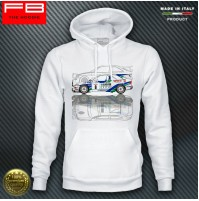 Felpa Hoodie Ford Escort Cosworth Fina Racing Rally GrA B.Thiry Tour de Corse
