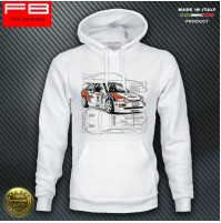 Felpa Hoodie Ford Escort Cosworth Martini Racing Rally Gr A History Champion