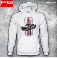 Felpa Hoodie Lancia 037 Martini Racing Abarth Rally Legend S4 M.Biasion Old FB