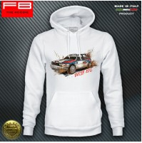 Felpa Hoodie Lancia Delta EVO Martini Racing Evoluzione Integrale Rally Champion