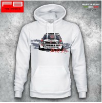 Felpa Hoodie Lancia Delta Evo Martini Racing Evoluzione Integrale Rally Legend