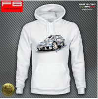 Felpa Hoodie RENAULT Clio Maxi Williams Team Diac Rally Legend RagnottiFB TEE