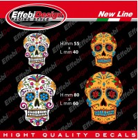 Kit Adesivi / Sticker Teschio Skull  auto. moto, tuning, Iphone, Ipod NEW 1 !!