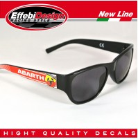 OCCHIALI DA SOLE SUNGLASSES ABARTH 1 FIAT 500 595 695 PUNTO WRC, HIGHT QUALITY