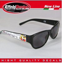 OCCHIALI DA SOLE SUNGLASSES ABARTH 2 FIAT 500 595 695 PUNTO WRC, HIGHT QUALITY