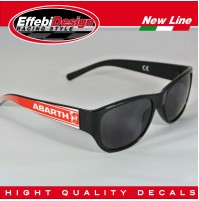 OCCHIALI DA SOLE SUNGLASSES ABARTH 3 FIAT 500 595 695 PUNTO WRC, HIGHT QUALITY