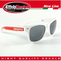 OCCHIALI DA SOLE SUNGLASSES ABARTH FIAT 500 595 695 PUNTO TUNING HIGHT QUALITY!