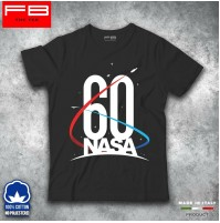 T-Shirt NASA 60 th anniversary Space Shuttle Program 1981 - 2011 History FB TEE