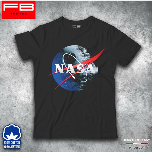 T-Shirt NASA Space 60th anniversary Shuttle Program Star Wars Galactic FB TEE