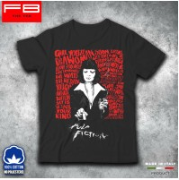 T-Shirt Pulp Fiction Cocaine Film Movie Vintage Uma Thurman John Travolta FB TEE