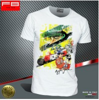 T-shirt AYRTON SENNA F1 World Champion Driver legend Williams Renault 1991 FBTEE