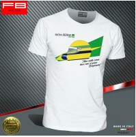 T-shirt AYRTON SENNA F1 World Champion Driver legend Williams Renault FB TEE