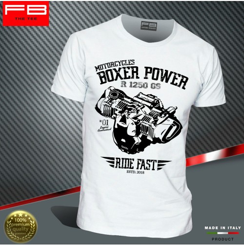 T-shirt BMW R1250 GS Hp Exclusive Adventure Boxer Power Engine Motorrad FB TEE