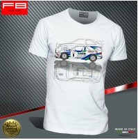 T-shirt Ford Escort Cosworth Fina Racing Rally GrA B.Thiry Tour de Corse FB TEE