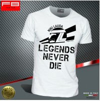 T-shirt NIKI LAUDA F1 LEGENDS World Champion Ferrari 312T McLaren MP4/3 FB TEE
