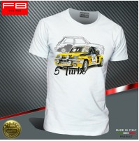 T-shirt Renault 5 GT TURBO Alpine Ragnotti Team Diac Rally Legend Old FB TEE