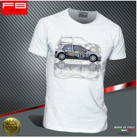 T-shirt Renault Clio Williams Maxi Kit Car Team Diac France A Ragnotti WRC FBTee