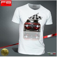 T-shirt Uomo Alfa Romeo GT Junior 1300 Legend Alfa Scalino Rally History FB TEE