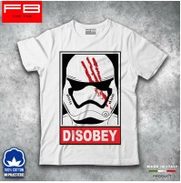 T-shirt Uomo Disobey STAR WARS Saga Last Jedi RogueModa Cool Idea Regalo FB TEE