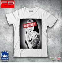 T-shirt Uomo Disobey Suora Sexy Girls Mistress BDSM SWAG DOPE HIPSTER porno