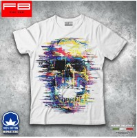 T-shirt Uomo Skull Teschio Mexican Urban Moda Grunge Cool Idea Regalo FB TEE