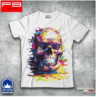 T-shirt Uomo Skull1 Teschio Mexican Urban Moda Grunge Cool Idea Regalo FB TEE