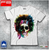 T-shirt Uomo Skull4 Teschio Mexican Urban Moda Rose Rock Idea Regalo Cool FB TEE