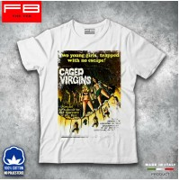 T-shirt Uomo VIXEN 70 80 Hot Sexy Girls BIG TITS Cger Virgins Film Hard FB TEE