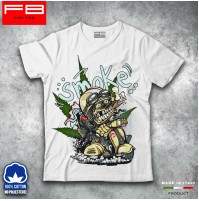 T-shirt Uomo Vespa Piaggio Px Vintage Smoke Joint Marijuana Legal Travel FB TEE