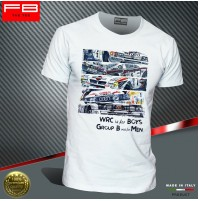T-shirt WRC Group B Rally Legend Renault Peugeot Audi Lancia Stratos Old FB TEE